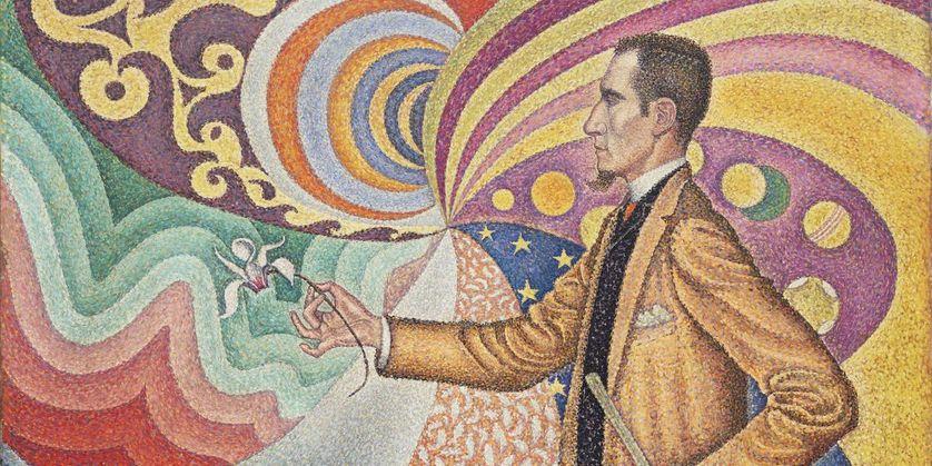 Paul Signac, Portrait of Félix Fénéon, 1890