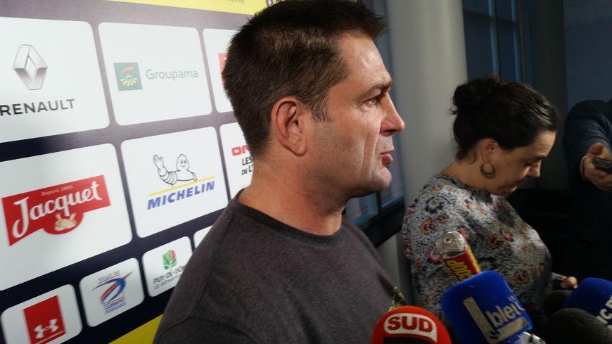 Franck Azéma - Manager ASM Clermont Auvergne