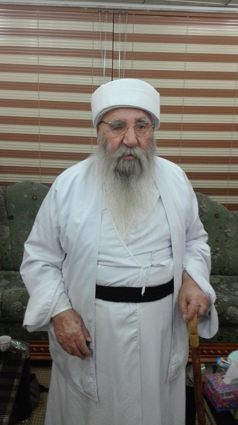 """Baba Cheikh, le guide spirituel de la communauté yézidie a pris une """"fatwa"""" historique en 2014"""