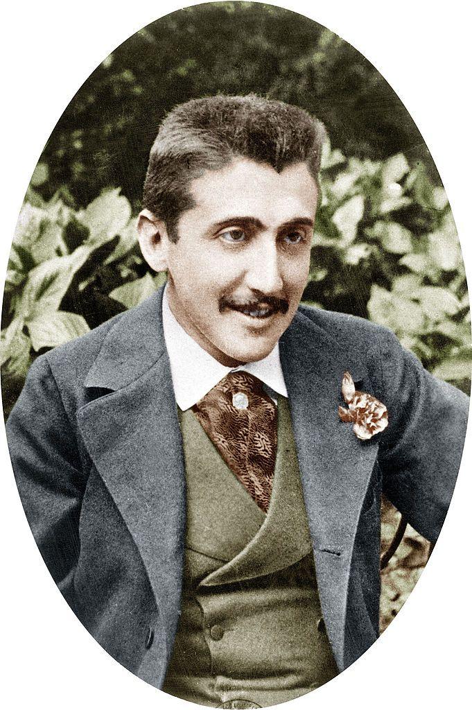 Le romancier français Marcel Proust (1871 - 1922) pose en 1891-1892.