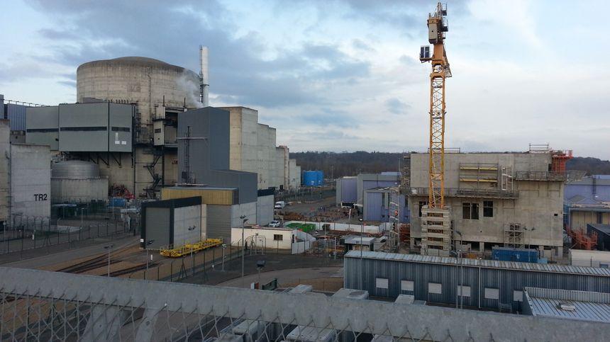 L'un des deux réacteurs de la centrale nucléaire de Belleville sur Loire, dans le Cher.