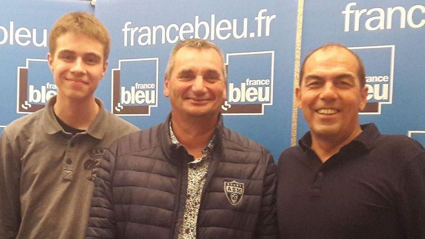 Matthieu MOEBS, Thierry FRAISSE et Jean-Pierre MOREL