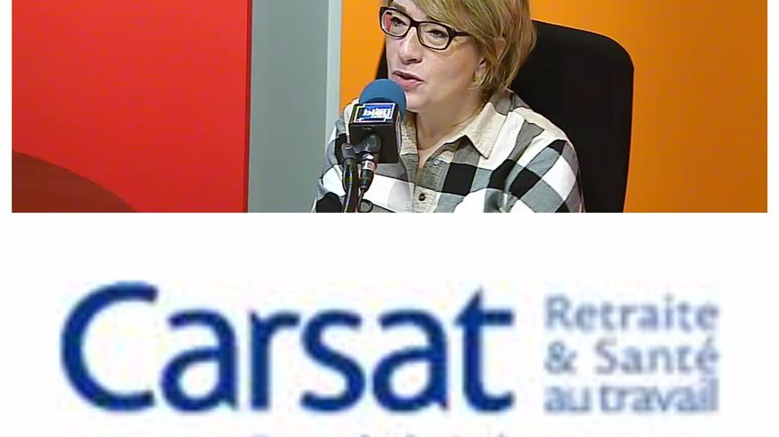 Marie-Laure Blin, responsable de l'agence de la Carsat au Mans