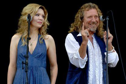Robert Plant et Alison Krauss au Bonnaroo Music and Arts Festival à Manchester.