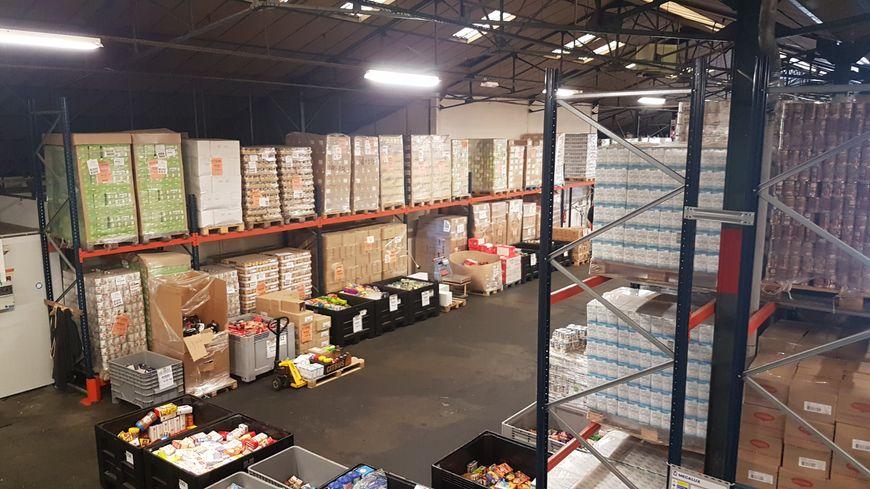 La Banque alimentaire du Loiret, c'est plus de 1300 tonnes de denrées alimentaires récupérées puis distribuées chaque année