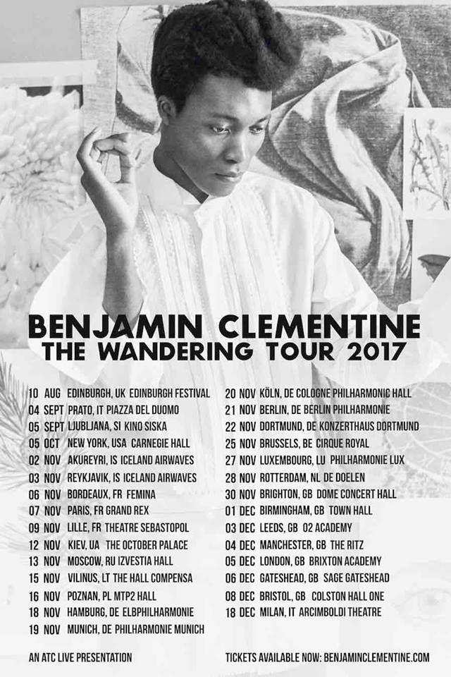 Benjamin Clementine tour