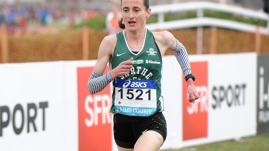 Christelle Daunay a remporté le championnat d'Europe de marathon en 2014.