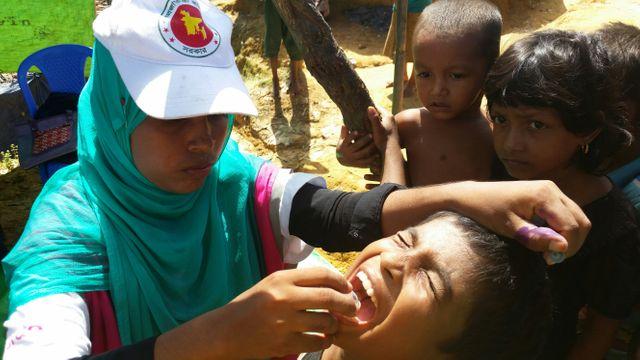 Le gouvernement a fourni 900 000 doses orales aux ONG.