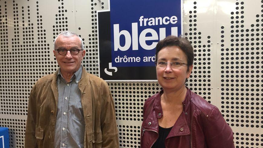 Dominique Viallon et Guiseppe Garetti