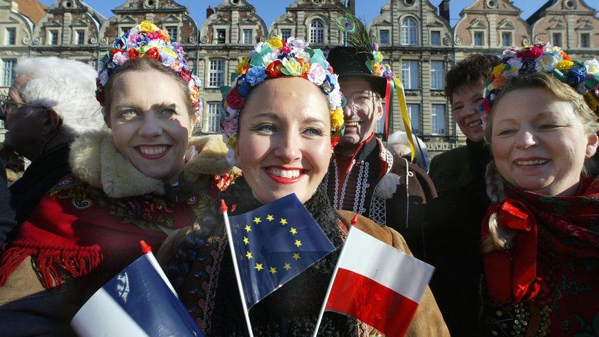 Illustration - Sommet franco-polonais à Arras en 2005
