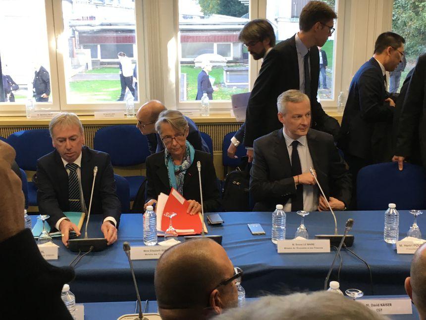 Début du comité national de suivi d'Alstom à Belfort