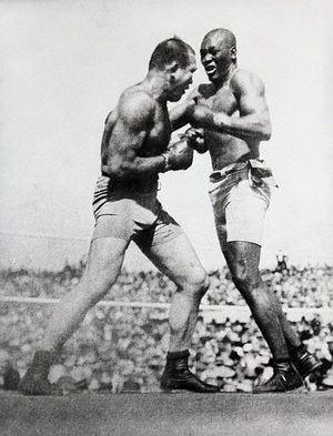 Le combat du siècle Johnson/Jeffries