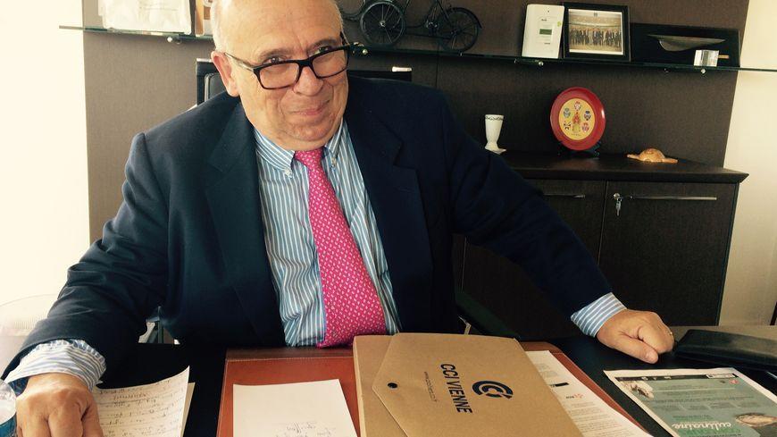 Le président de la CCI de la Vienne, Claude Lafond.