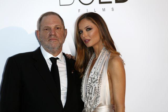 Harvey Weinstein et son épouse Georgina Chapman à Cannes en 2016