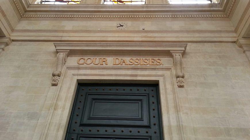 L'entrée de la cour d'assises de la Gironde