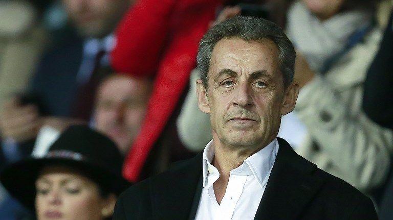 Nicolas Sarkozy, en septembre dernier lors d'un match de football
