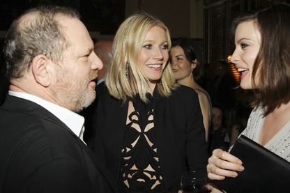 Harvey Weinstein, Gwyneth Paltrow et Liv Tyler en avril 2008