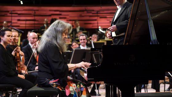 Martha Argerich et Emmanuel Krivine