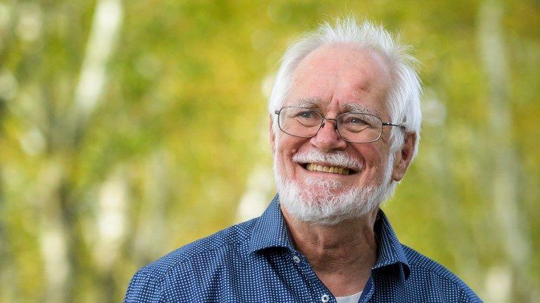 Jacques Dubochet, l'un des trois lauréats du prix Nobel de chimie