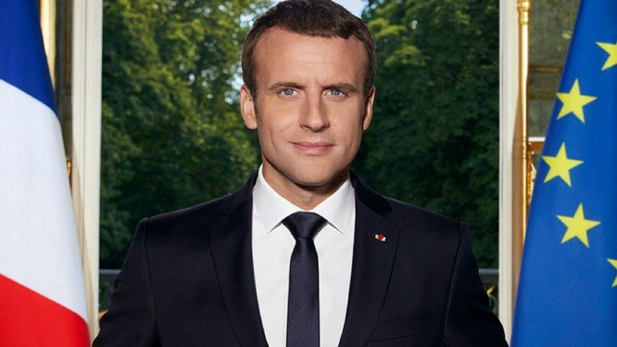 Le portrait officiel du Président de la République