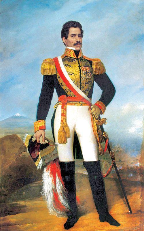 Ramon Castilla y Marquesado (1797-1867)  caudillo péruvien