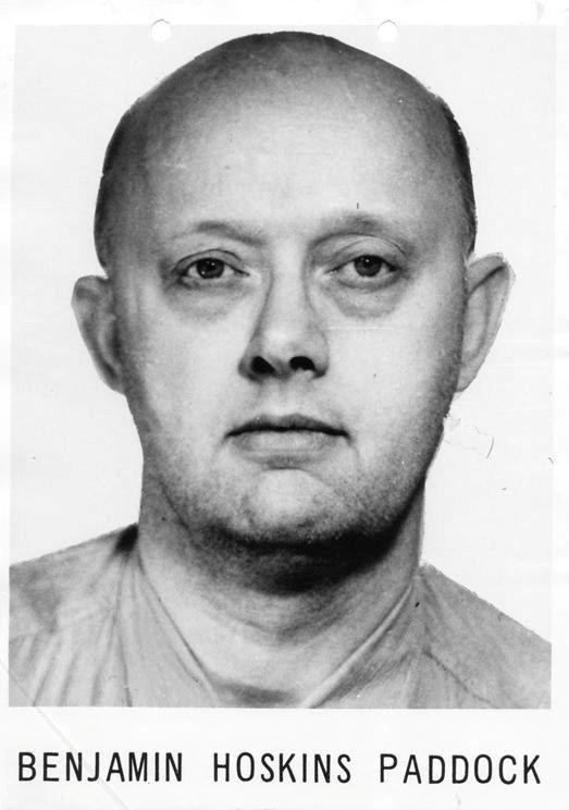 Benjamin Paddock, le père de l'auteur de la tuerie de Las Vegas, était un braqueur de banques