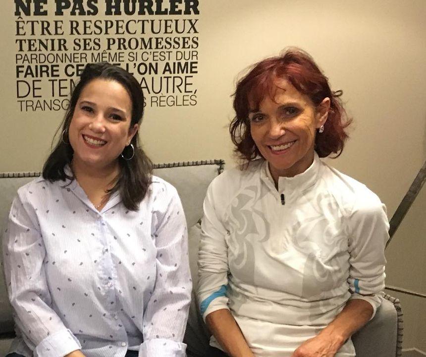 Marie Navarro et Annie Vitalbo