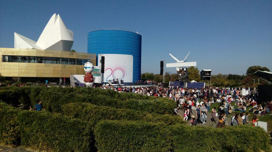 20.000 personnes étaient présentes pour célébrer le 20e anniversaire de la Cité de l'Espace