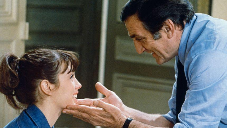 Isabelle Adjani et Lino Ventura dans La gifle