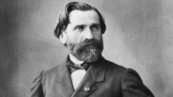 Portrait de Giuseppe Verdi en 1854 par Nadar