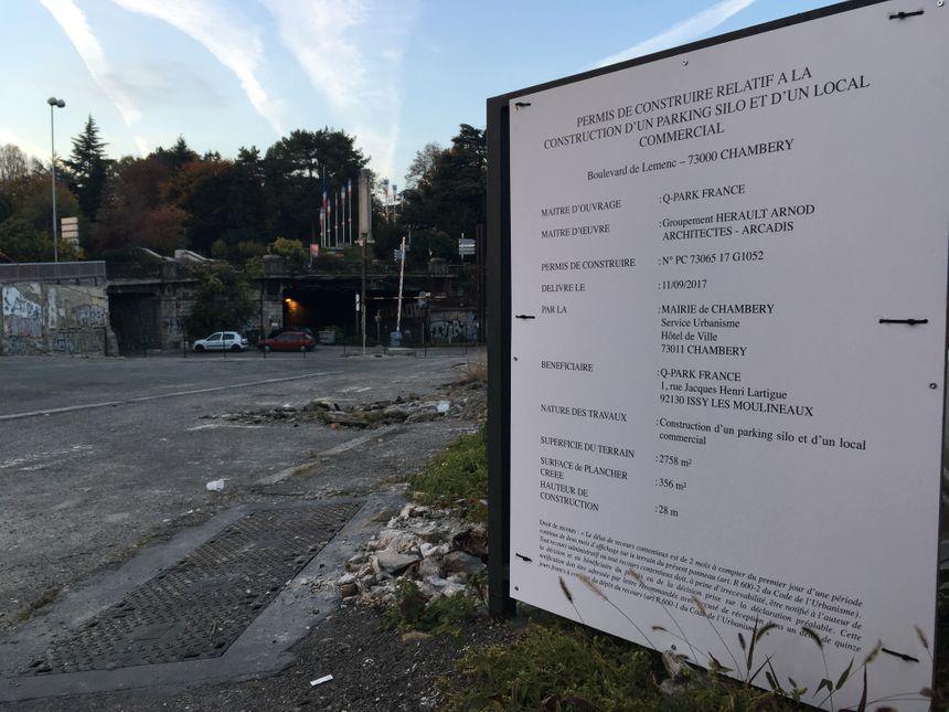 Le permis de construire a été déposé, les travaux doivent débuter avant la fin de l'année