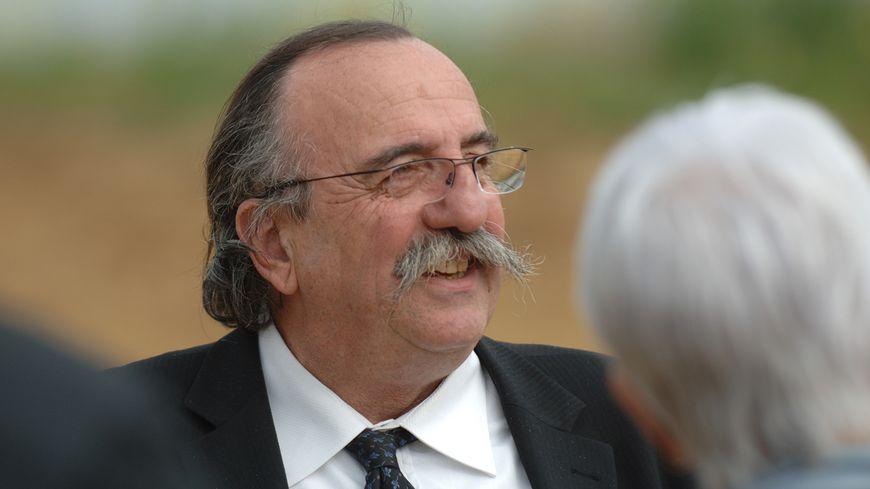Eric Gautier pendant son mandat de président du département des Deux-Sèvres