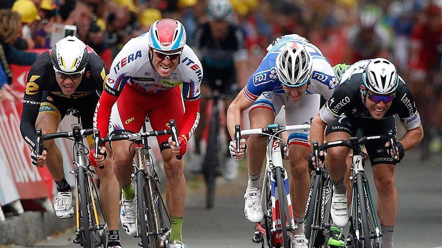 L'arrivée du Tour de France à Amiens le 8 juillet 2015