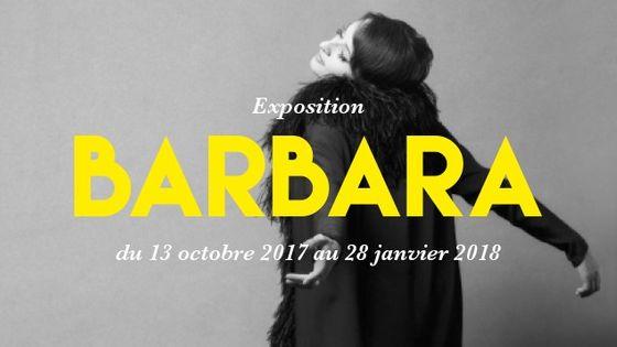 Affiche de l'exposition Barbara à la Philharmonie de Paris