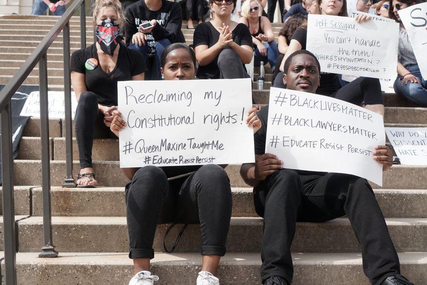 Black Lives Matter, Université de Georgetown, Washington DC, Etats-Unis, 2017