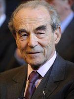 Robert Badinter le 23 mars 2010 au Palais de justice de Paris.