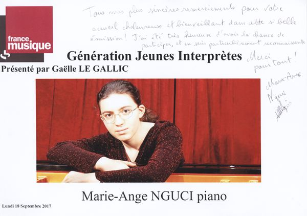 Livre d'or Marie-Ange Nguci