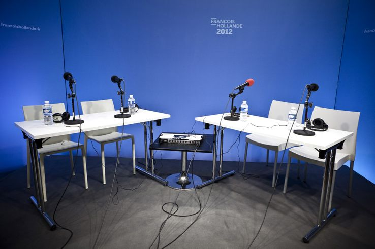 "Le studio de ""Radio Hollande"" en 2012"