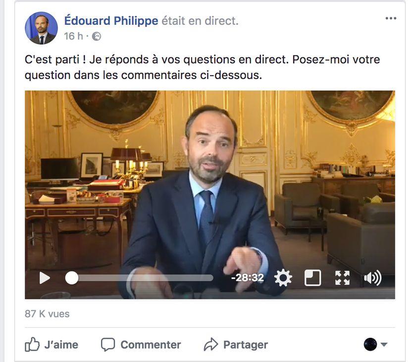 Pour la première fois ce mardi un Premier ministre a répondu aux questions des internautes en direct sur le réseau auquel quelques 30 millions de Français sont potentiellement connectés