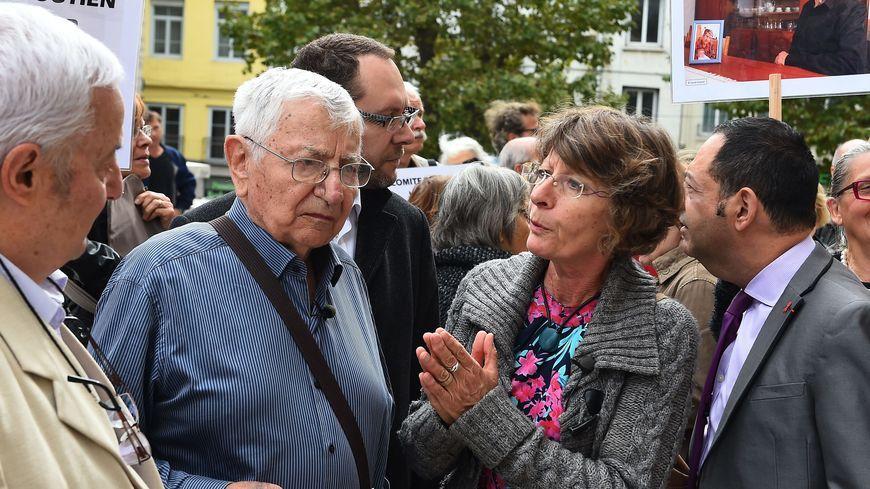 Jean Mercier lors de son procès au tribunal correctionnel de Saint-Etienne, en 2015.