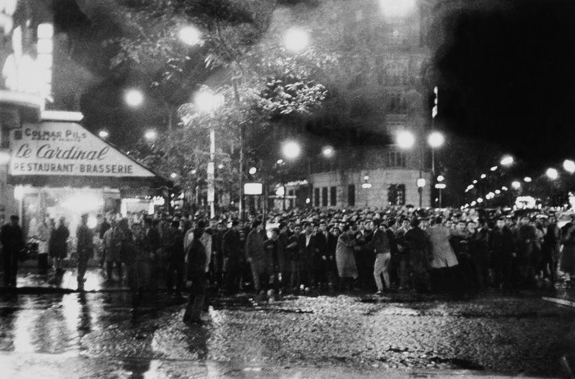 Manifestation du 17 octobre 1961 dans les rues de Paris
