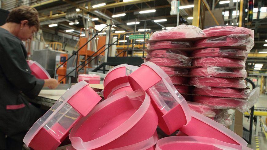 La fermeture de l'usine Tupperware de Joué-lès-Tours représente une suppression de 235 emplois