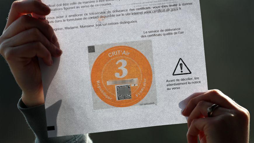 En cas de contrôle, si vous n'avez la fameuse vignette, vous risquez une amende de 68 euros.
