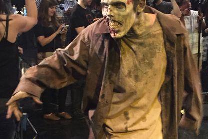 """Un zombie de """"The Walkind dead"""""""