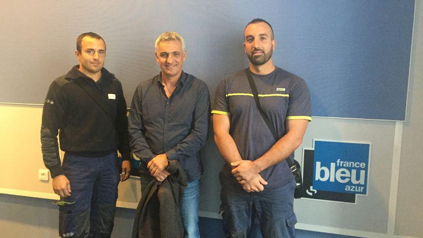Timy, Jean-François et Eric sont partis trois semaines pour contribuer à rétablir le courant dans les îles des Antilles frappées par les ouragans