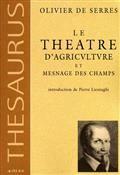 Le théâtre d'agriculture