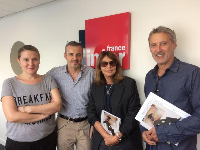 Charline Roux, Emmanuel Pierrat, Bettina Rheims et Antoine de Caunes