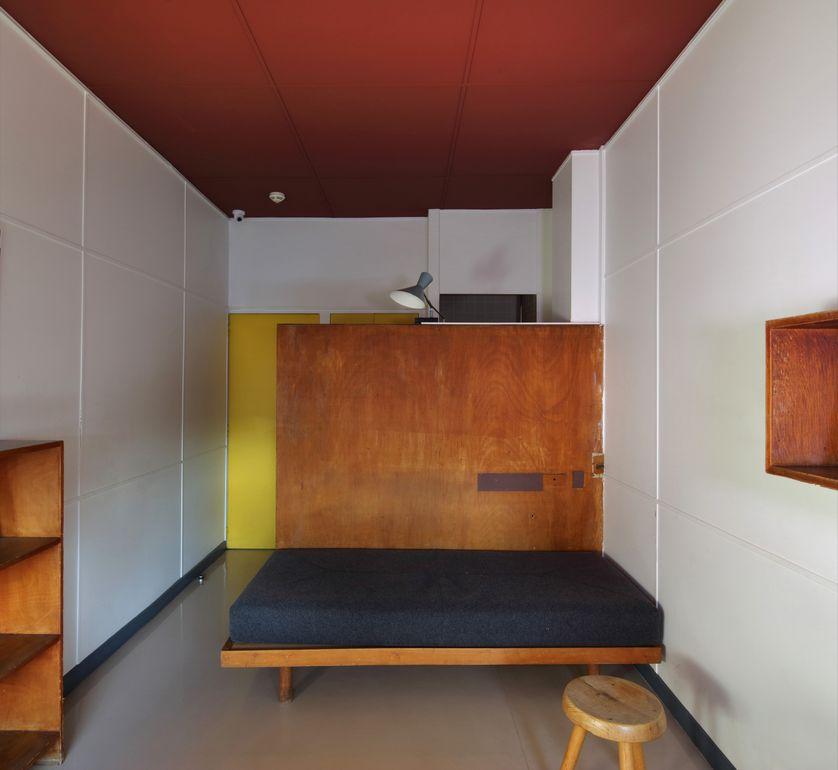 Chambre de la Fondation Suisse à la Cité Internationale Universitaire de Paris (Le Corbusier/Jeanneret/Perriand)
