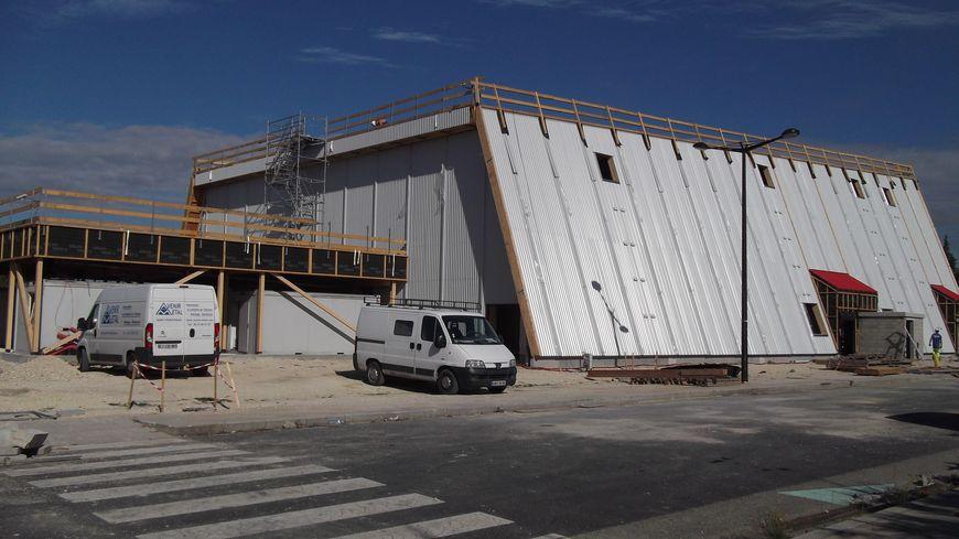 L'opera éphémere en construction