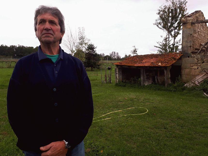 Jean-Pierre habite à Cavignac depuis une trentaine d'années.